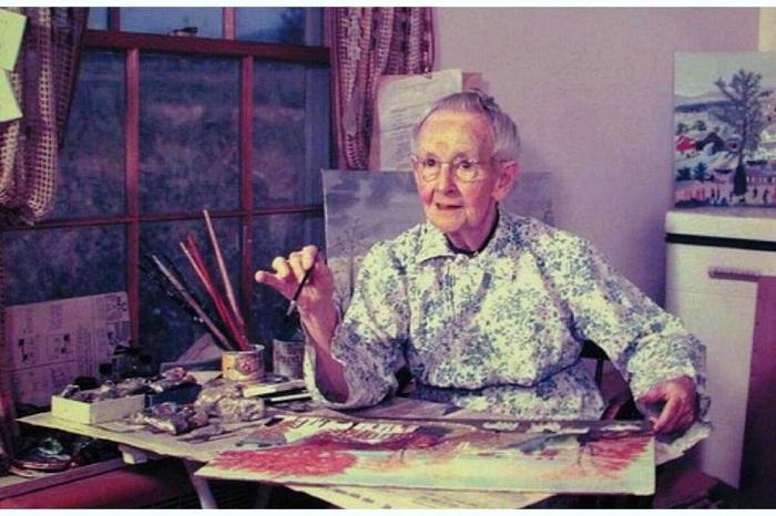 Анна Мэри Мозес (Anna Mary Moses) - известная американская художница.
