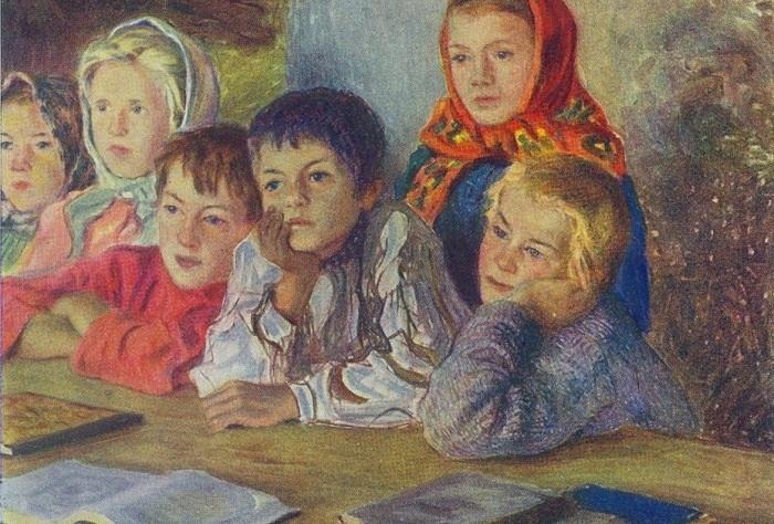 Автор: Николай Богданов-Бельский.