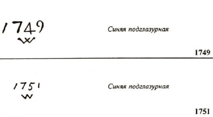 Клеймо Д.И. Виноградова.