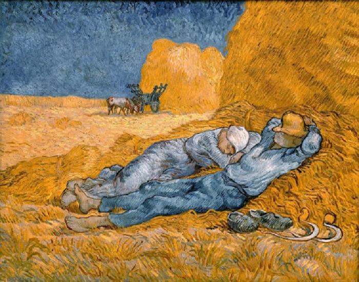 «Полуденный отдых».Автор: Винсент Ван Гог.