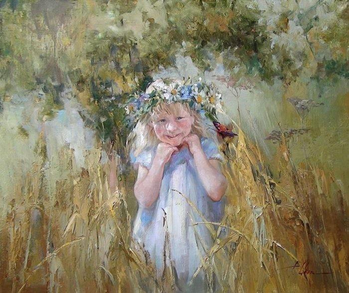Лето. Из цикла «Мир детства» Инессы Морозовой.