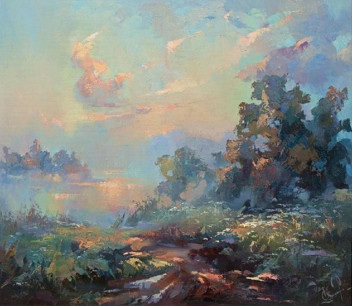 «Дорога в туман». Автор: Юрий Козяр.