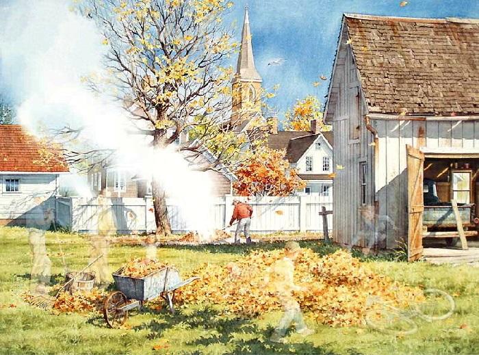 Осень. Из «Коллекции воспоминаний». Автор: Charles L.Peterson.
