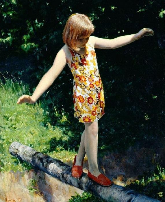Беззаботное лето. Автор: Вячеслав Грошев.