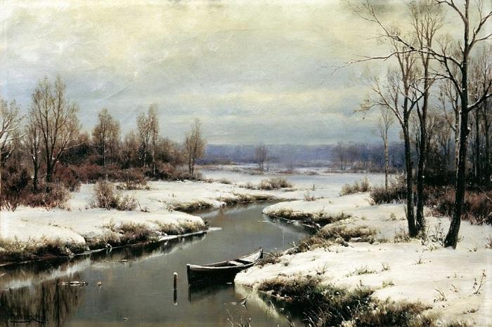«Начало зимы».(1904 год). Автор: Иван Вельц.