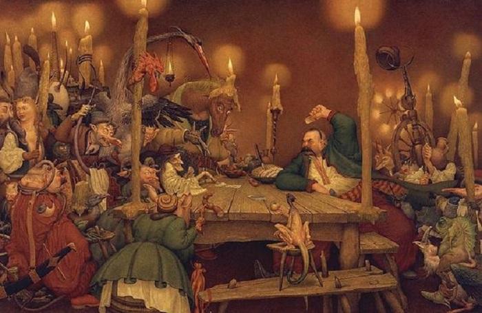 Иллюстрации от Андрея Дугина.