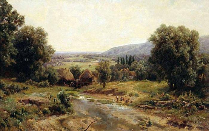 «Деревня». Автор: Иван Вельц.