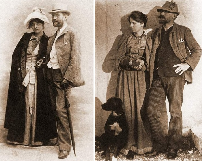 Педер Северин Крёйер и Мари Крёйер.