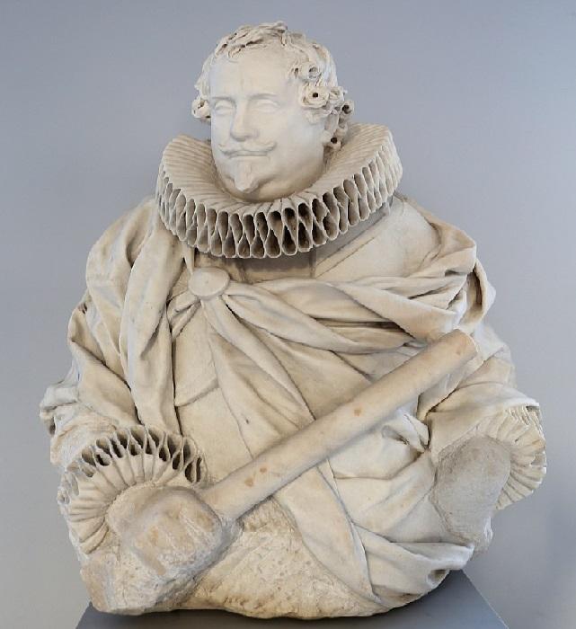 Портрет принца Микеле Дамаскени-Перетти. Боде музей, Берлин. Скульптор: Джулиано Финелли.