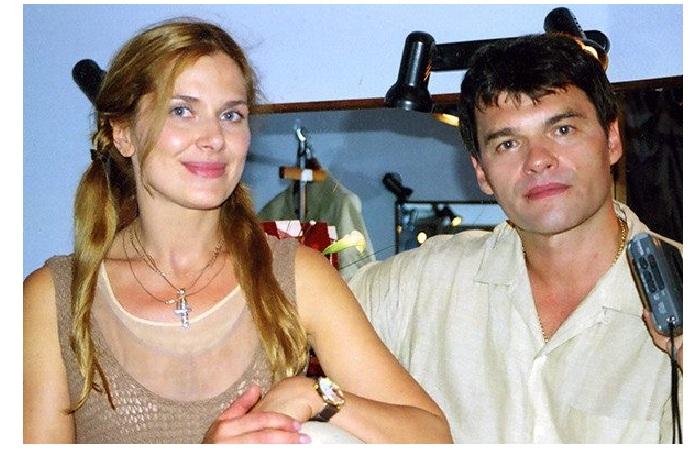 Евгений Дятлов с любимой женой Юлией Джербиновой.