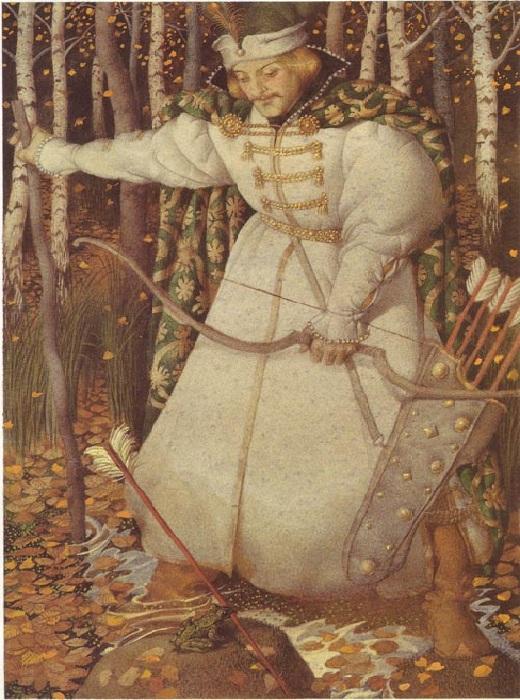 «Принцесса Лягушка» (1994). Иллюстрации от Геннадия Спирина.
