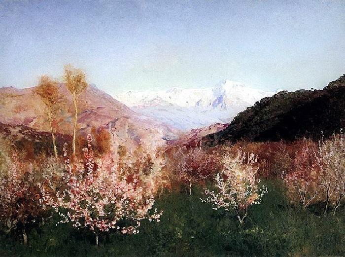 Левитан И.И. Весна в Италии. 1890. Государственная Третьяковская галерея.