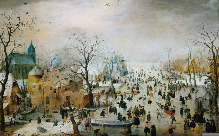 Почему глухонемой живописец позднего Cредневековья писал только зимние пейзажи: