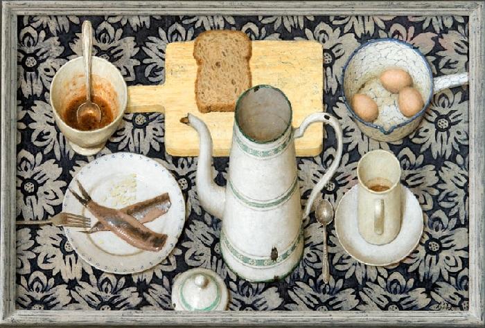Закуска. Живопись от Kenne Gregoire.
