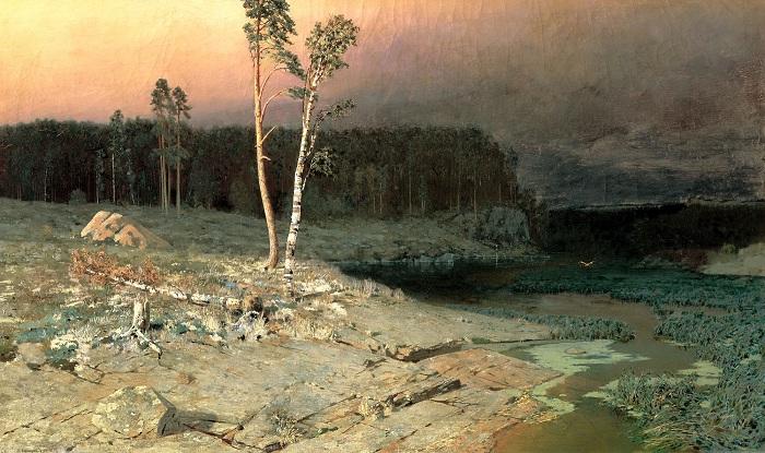 «На острове Валааме». Автор: Архип Куинджи.