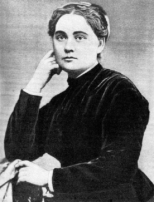 Мария Вилинская - Украинская писательница Марко Вовчок.
