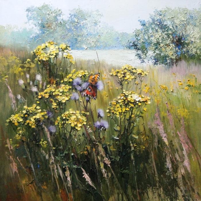 Полевые цветы. Автор: Инесса Морозова.