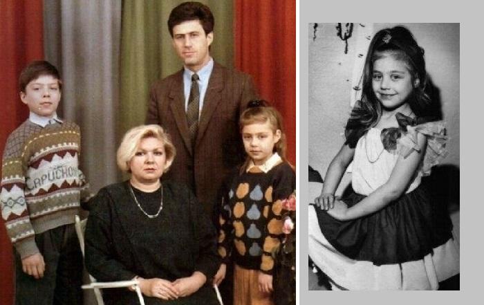 Семья Тани Либерман.