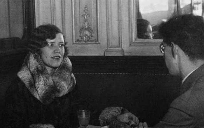 Матрёна Распутина в Париже.