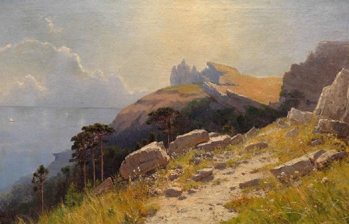 Каким видели Крым художники классики 200 лет тому назад, и каким его видят нынешние мастера.