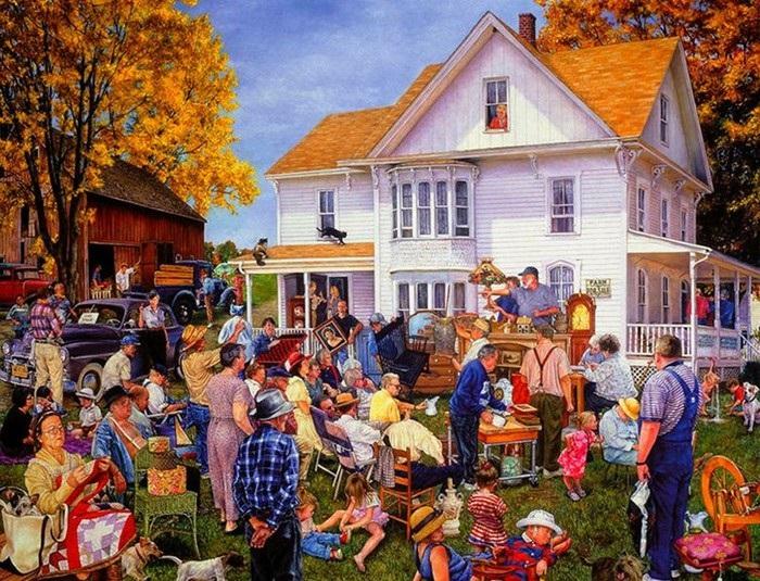 Аукционные торги. Истории от Сьюзан Брабо.