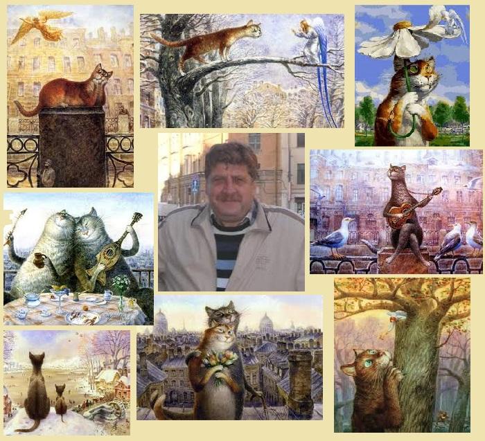 Владимир Румянцев - член Санкт-Петербургского союза художников и общества акварелистов.