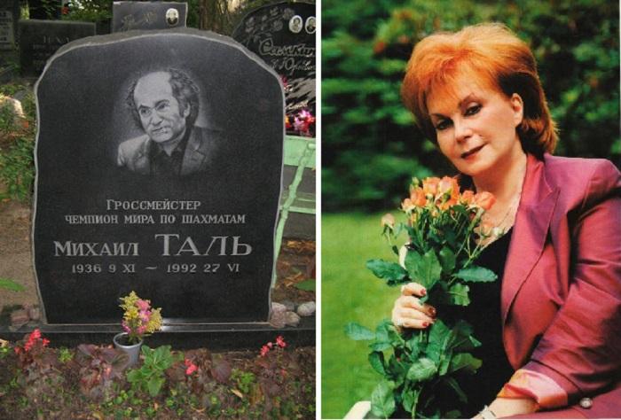 Могила Михаила Таля. / Салли Ландау.