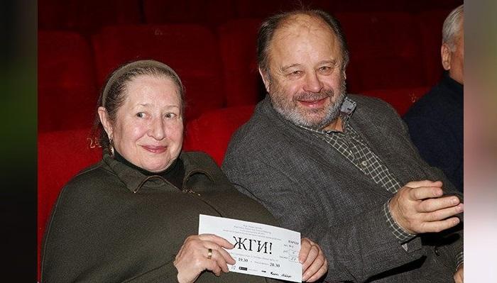 Зоя Пыльнова и Владимир Ильин.