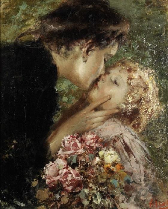 Материнская любовь. (A Mother's Love). Автор: Винченцо Иролли.| Фото: gallerix.ru.