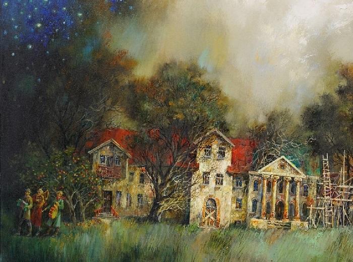 Старый дом. Автор: Анатолий Концуб.