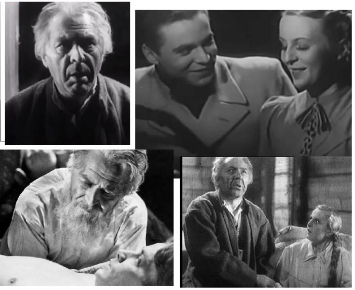 Кадры из к/фильма «Знахарь» (1937 год.) Режиссер Михаил Вашиньски.