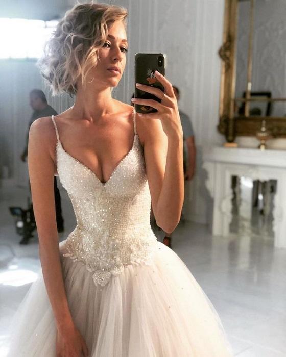 Красавица-невеста.