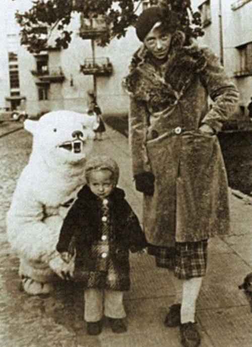 Катерина Кобро с дочерью Никой.