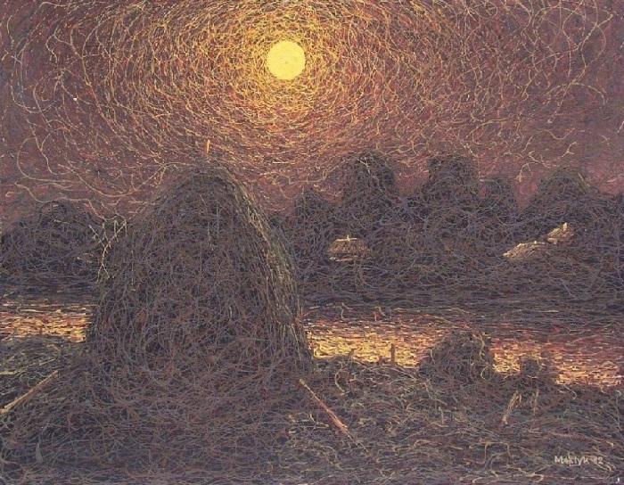 Лунная ночь. 1882 год. Автор: Иван Марчук.