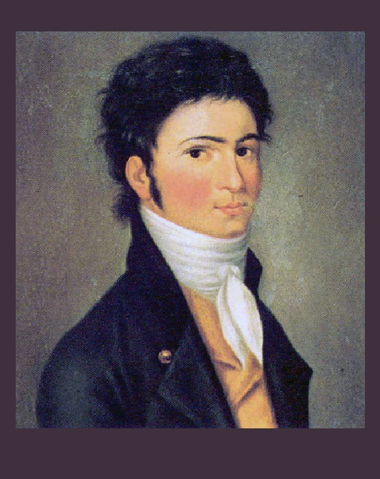 Юный Бетховен.