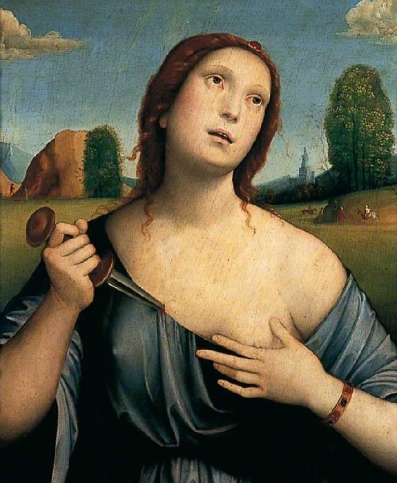Лукреция. (1515 год). Франческо Франча.