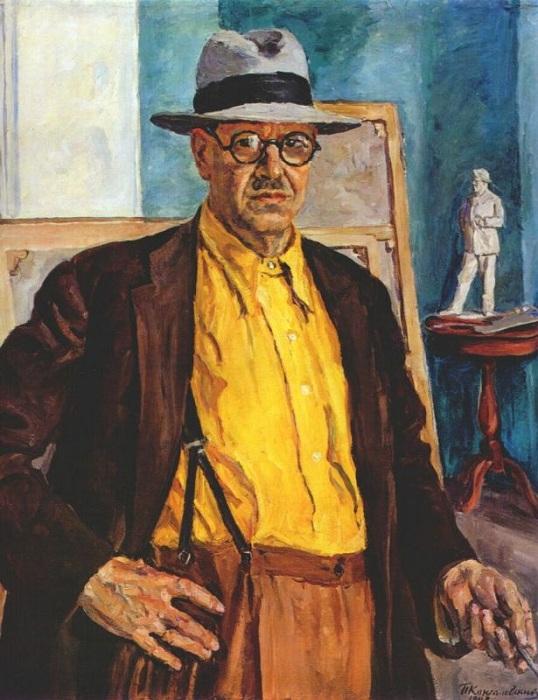 Автопортрет. 1943 год. Автор: Петр Петрович Кончаловский.