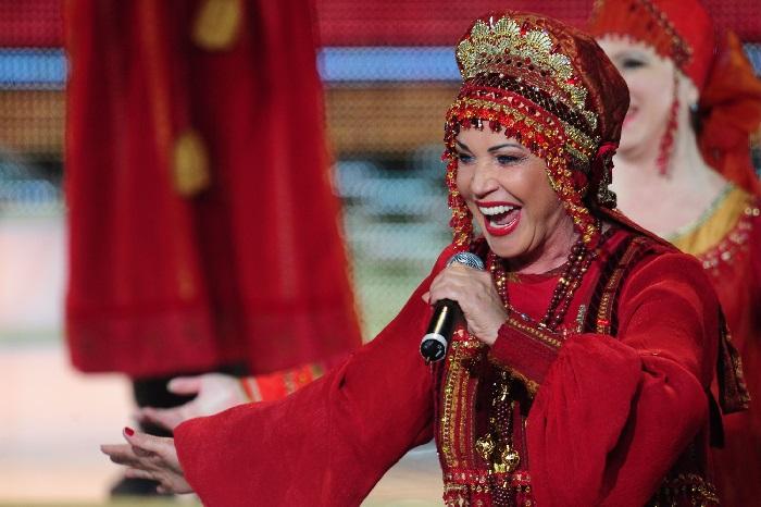 Надежда Бабкина - царица русской песни.