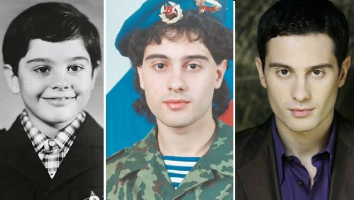 АнтонМакарскийв детстве и в молодые годы
