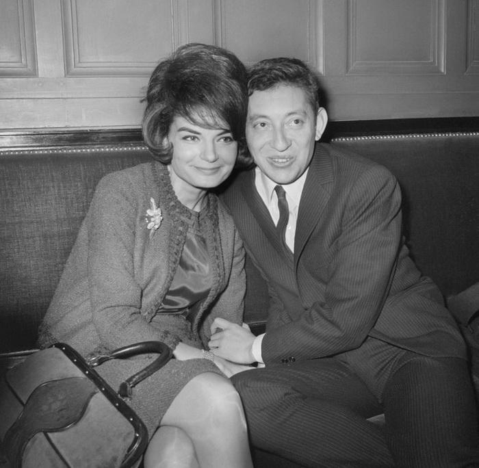 Серж со второй женой Франсуазой-Антуанеттой.