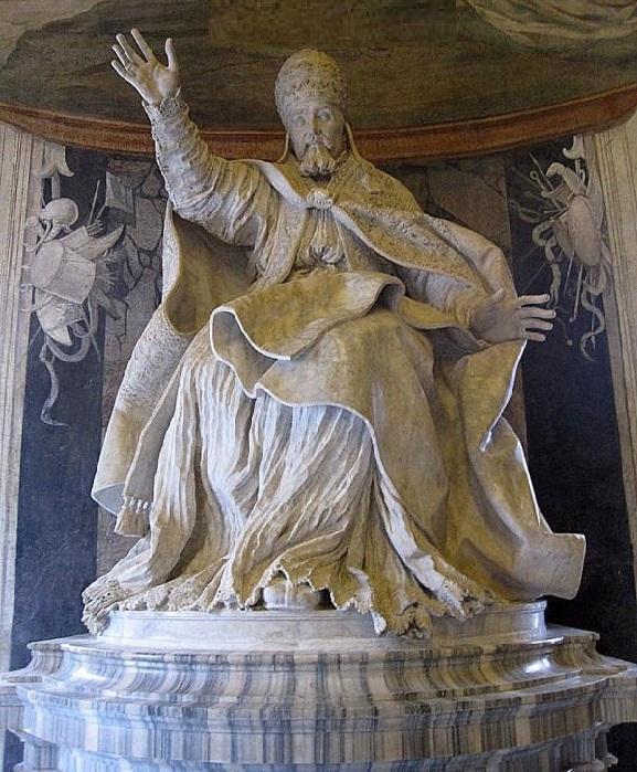Скульптуры эпохи барокко Джулиано Финелли.Кафедральный собор Святого Януария.