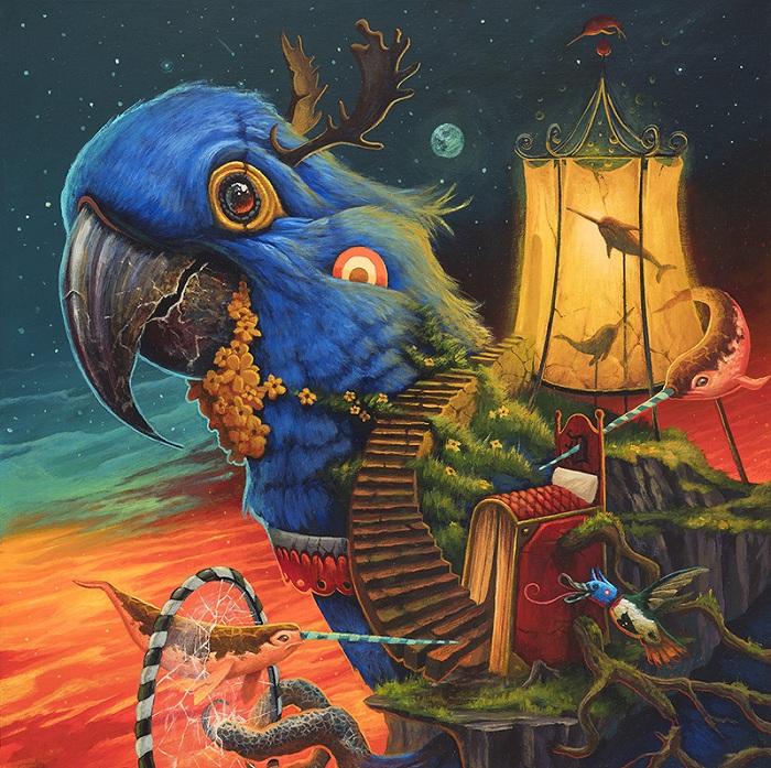 Иллюстрации от Антонио Донаты.