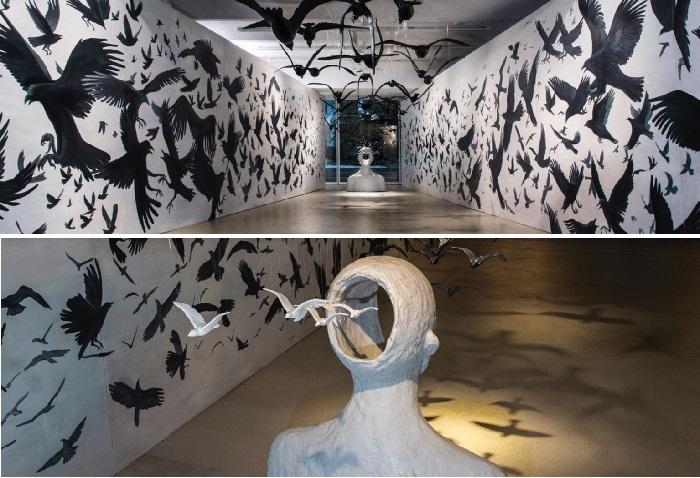 Скульптурная инсталляция от Тамары Квеситадзе.