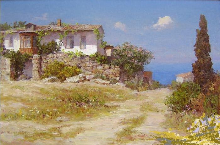 Крымский мотив. (2007 год). Автор: Анатолий Сень.
