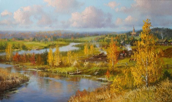 «Времена года. Сентябрь». Автор: Владимир Жданов.