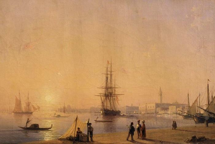 Венеция. 1844 год.