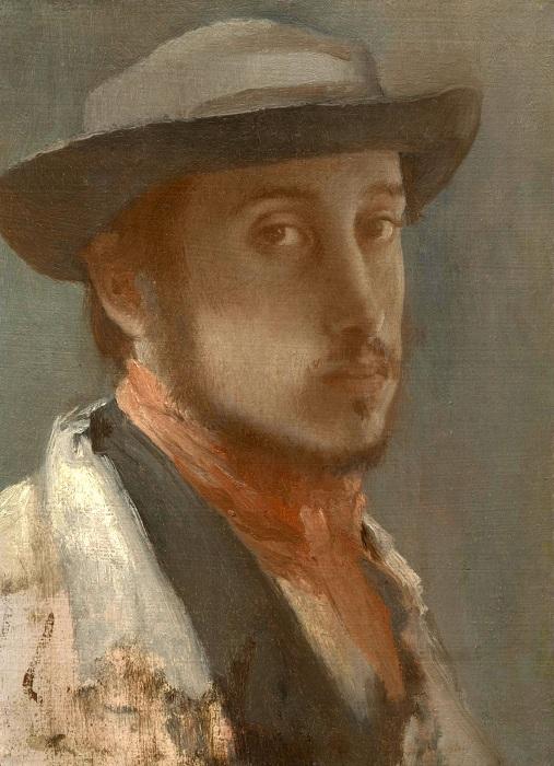 Автопортрет. Эдгар Дега.