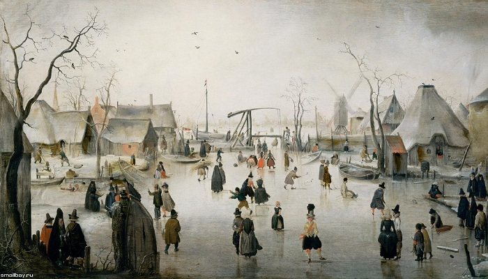Ледяной город, 1600-1610 годы, Маурицхейс, Гаага.