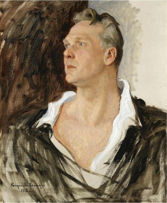 Портрет Федора Шаляпина. Автор: Николай Богданов-Бельский.