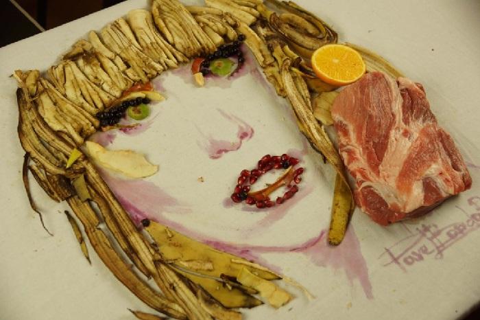 Певица Леди Гага — сладкая, как банан с легким привкусом киви и зернышек граната.